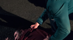 Some of the images from a new series of graphic TV ads which have aired for the first time as part of a campaign seeking to challenge the 35% of people who support paramilitary-style attacks