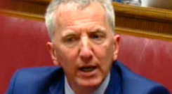Mairtin O Muilleoir giving evidence yesterday