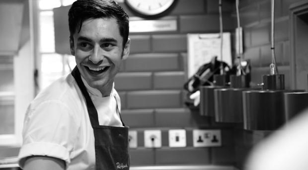 Senior sous chef Chris McClurg has gone from strength to strength under the wing of Paul Ainsworthhe moved back to Belfast and set