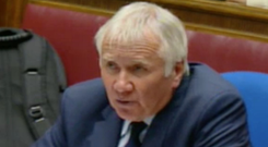 Sir Malcolm McKibbin giving evidence yesterday