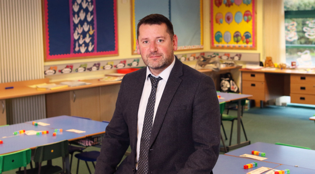 Maghaberry Primary School principal Graham Gault