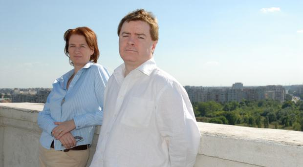 Journalist Phelim McAleer with his wife Ann McElhinney