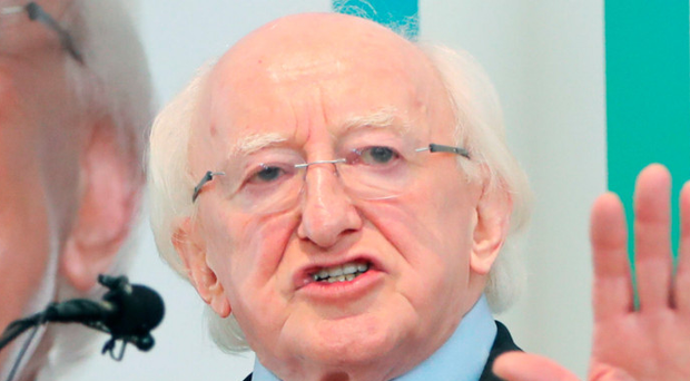 Inauguration: Michael D Higgins