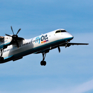 Pilot error: a Flybe Dash 8 like this was involved in the incident on January 11