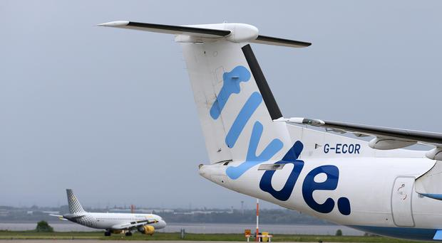 A Flybe aircraft descended rapidly due to an autopilot error (Tim Goode/PA)