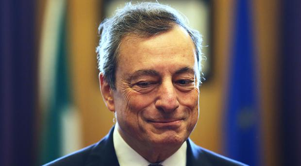 European Central Bank president Mario Draghi (Brian Lawless/PA)