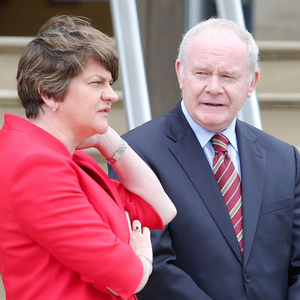 Arlene Foster and Martin McGuinness