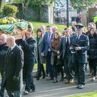 The funeral of John Winton took place in Limavady, where fire crews formed a guard of honour outside Limavady Fire Station