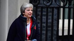 Hopes that Theresa May's Cabinet might sign off a Brexit deal on Tuesday appear to have been dashed (Victoria Jones/PA)