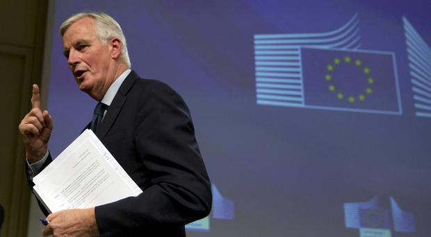 Michel Barnier it could be possible to agree the final trade deal within the transition period (Virginia Mayo/AP)