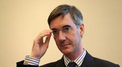 Jacob Rees-Mogg urged Tory MPs to vote against the Brexit plans (Aaron Chown/PA