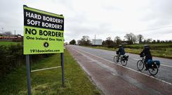 The thorny issue of the Irish border has proved a real sticking point