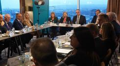 NI Secretary of State Karen Bradley meets key Northern Ireland business representatives to brief them on the Draft Brexit Withdrawal Agreement