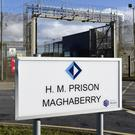 The prisoner was being held at Maghaberry Prison (PA)