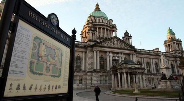 Belfast City Hall (Paul Faith/PA)