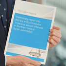 Sir John Gillen's report, which is being published today