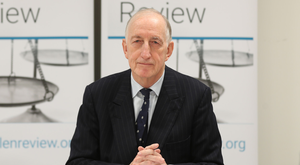 Sir John Gillen has completed a review into serious sex crimes