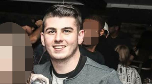 Niall Lyttle passed away after falling from the bike in Belfast city centre on Friday evening