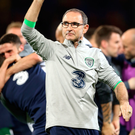 Martin O'Neill during his time as Republic manager