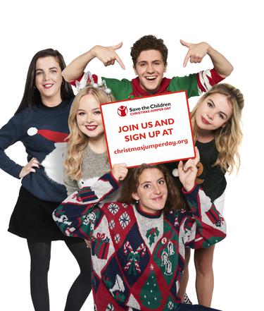The Spirit Of Christmas Cast.Cast Of Derry Girls Get In The Festive Spirit For Good Cause