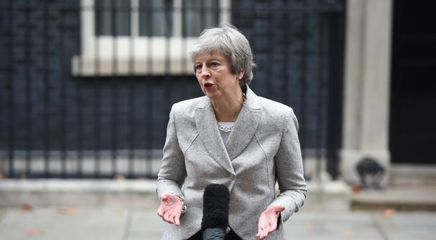 Prime Minister Theresa May (David Mirzoeff/PA)