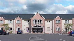 Blair House Care Home, Newtownards, where James Weir Snr is a resident