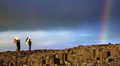 The Giant's Causeway is Northern Ireland's most visited attraction (Haydn West/PA)