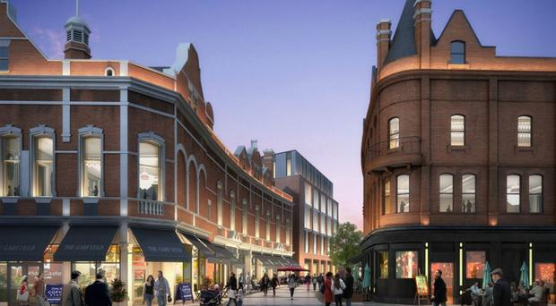 An artist's impression of Belfast's Tribeca