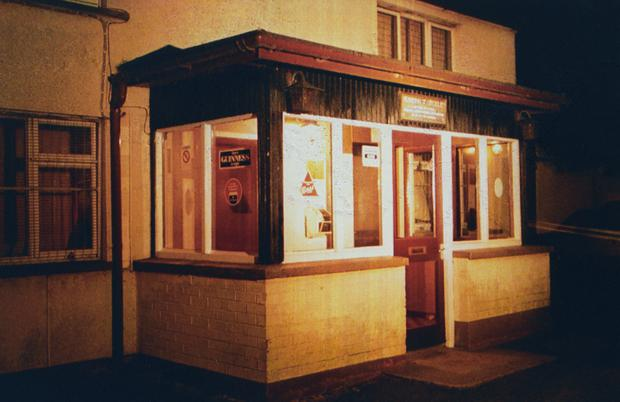 The Heights Bar at Loughinisland, Co Down (PA)