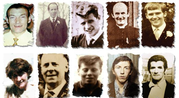 The Ballymurphy Massacre victims have been remembered by their families (handout/PA)
