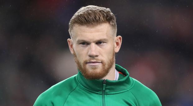 James McClean previously helped pay the funeral costs of a Derry toddler who was tragically killed (Niall Carson/PA)