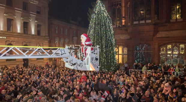 Tree-mendous! Northern Ireland Towns And Cities Light Up