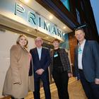 Secretary of State Karen Bradley with (from left) Primark director Ben Mansfield, store manager Jacqui Byers and NI area manager Neale Kirk
