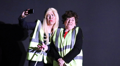 Mary-Frances Doherty and Maria Connelly play Arlene Foster and Michelle O'Neill in their new show Ulster Says Snow!