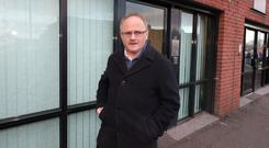 Unionist parties have expressed outrage at the selection of former MP Barry McElduff for council elections. (Niall Carson/PA)