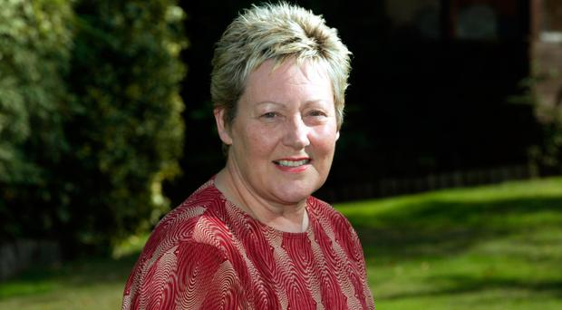 Beryl Quigley, whose husband Bill McConnell was killed by the IRA