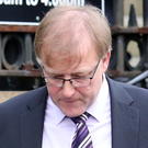 David Morrow leaves Downpatrick Court yesterday after his sentencing