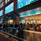 Thousands queued outside the new Primark store in Castle Street, Belfast city centre last Saturday morning