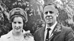 John McKerr pictured with his wife Maureen