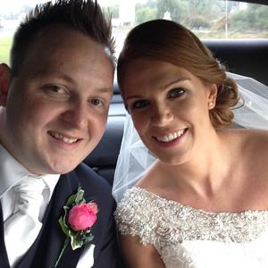 Laura Burns and husband Keelan