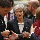 Theresa May faced criticised over the UK's lack of clarity over the future relationship (Alastair Grant/AP)