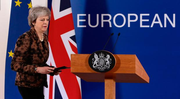 Brexit: May rebuffed by European Union leaders in Brussels