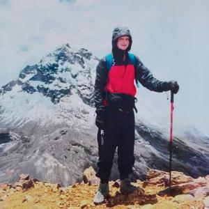 Barney Dobbin, who died in a climbing accident in Ecuador