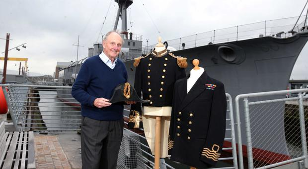 A former Northern Ireland minister has revealed his family links to HMS Caroline