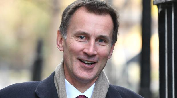 Foreign Secretary Jeremy Hunt (Dominic Lipinski/PA)