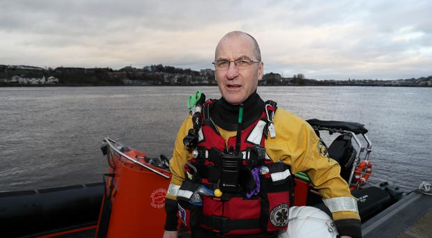 Foyle Search and Rescue volunteer Pat Carlin (Brian Lawless/PA)
