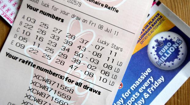 Armagh couple step out to claim €130 million EuroMillions prize