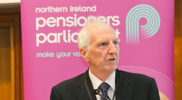 Michael Monaghan, from The Pensioners' Parliament, has raised concern about winter challenges facing the elderly