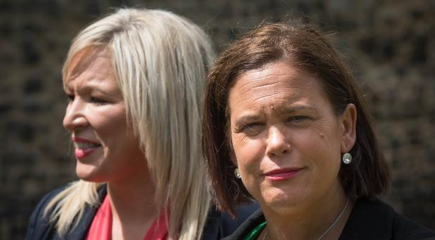 Michelle O'Neill will travel to Brussels with Mary Lou McDonald for talks with EU chief negotiator Michel Barnier (Stefan Rousseau/PA)