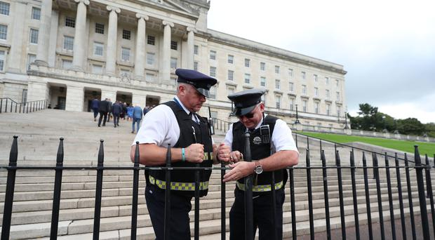The Good Friday peace agreement could become unsalvageable two years after the collapse of Stormont, Sinn Fein has said (Liam McBurney/PA)